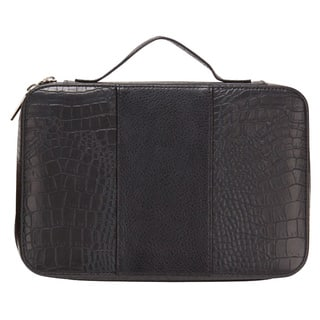Goodhope Deluxe Croc Leather Cosmetic Toiletry Case|https://ak1.ostkcdn.com/images/products/10845538/P17886275.jpg?impolicy=medium