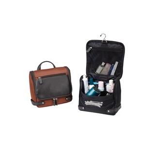 Bellino Leather Unisex Toiletry Organizer Bag