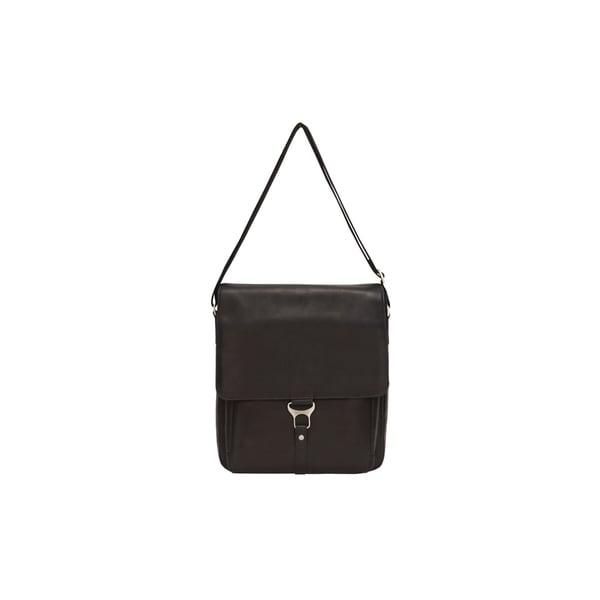 Bellino Leather Vertical 15-inch Laptop Messenger Bag. Opens flyout.
