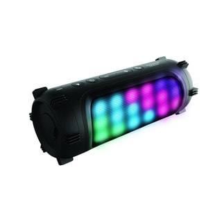 Sharper Image Bluetooth Speaker with Interactive LED Lights