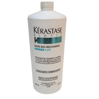 Kerastase Bain Bio Recharge for Combination Hair 34-ounce Shampoo