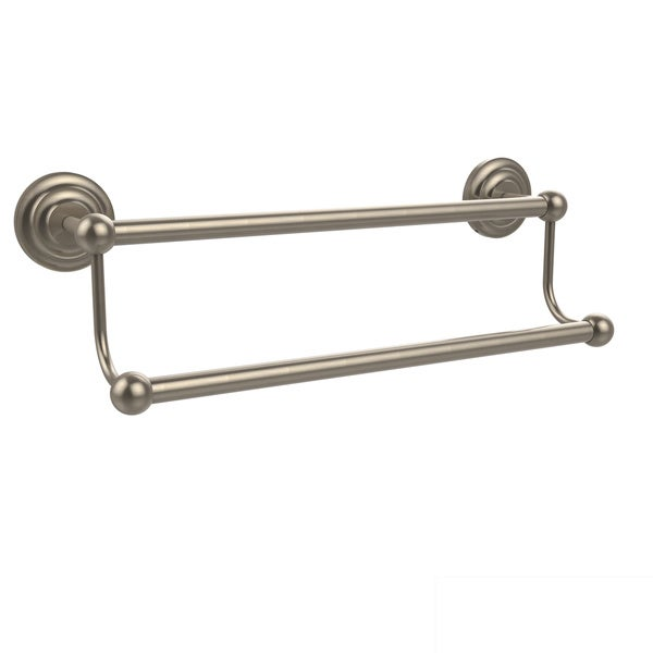 Allied Br Prestige Que New Collection 18 Inch Double Towel Bar
