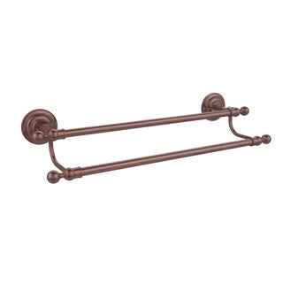 Allied Brass Que New Collection 30-inch Double Towel Bar