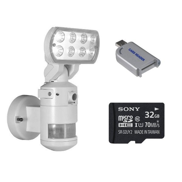 nightwatcher pro motorized led security motion tracking