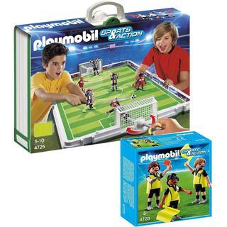 Playmobil Soccer Playmobil Take Along Soccer Match/ Referees