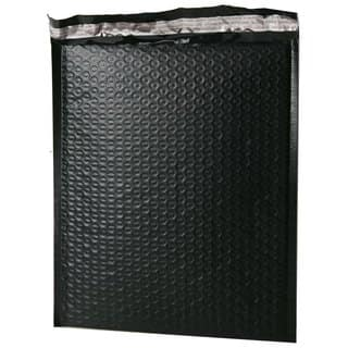 """Size #0 6.5""""""""x9"""""""" Black Poly Bubble Mailers
