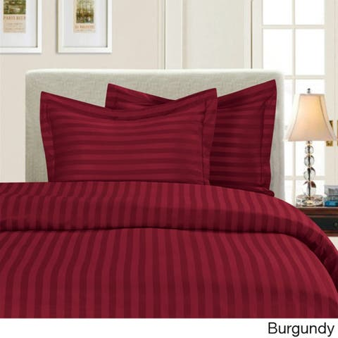 Porch & Den Fairfield Dobby Stripe 3-piece Duvet Cover Set