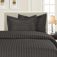 Porch & Den Back Bay Newbury Dobby Stripe 3-piece Duvet Cover Set