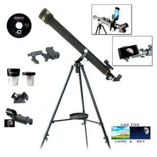 Galileo Black Granite Refractor Telescope G-860BG