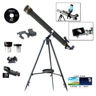 Galileo G-860BG Refractor Telescope with SmartPhone Photo Adapter