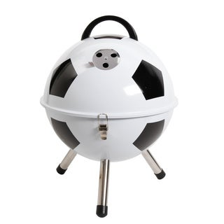 Gibson Soccerball Style Outdoor Portable Charcoal Grill