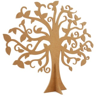 Beyond The Page MDF Large Family Tree-17.75inX15.625in