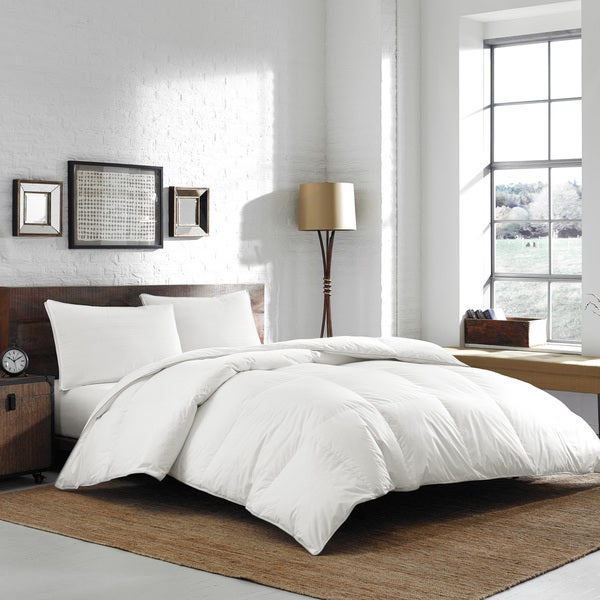 Ed Bauer Oversized King Size Luxury Batiste Cotton 700 Fill White Goose Down Comforter