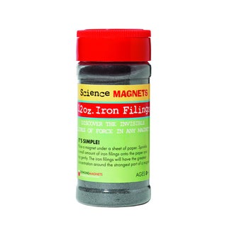 Dowling Magnets Iron Filings 12 oz. Jar (Pack of 6)