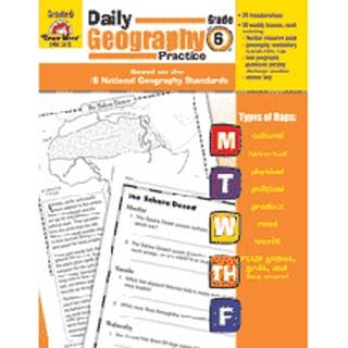 Evan-Moor Daily Geography Practice Book Grade 6+