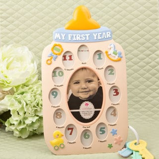 Baby Bottle Collage Frame