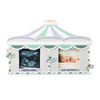 Sonogram/ Birth Circus Tent Double Frame