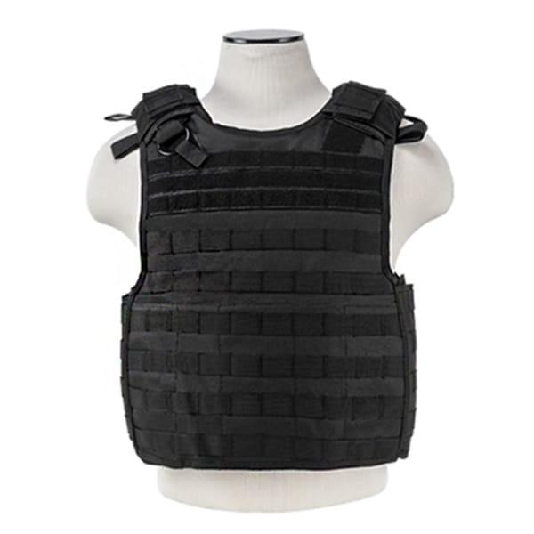 NcStar Quick Release Plate Carrier Vest Black