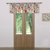 Greenland Home Fashions Astoria White Window Valance