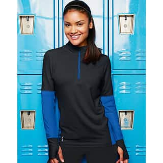Duofold by Champion THERMatrix Women's 1/4 Zip Pull-over https://ak1.ostkcdn.com/images/products/10846265/P17886862.jpg?impolicy=medium