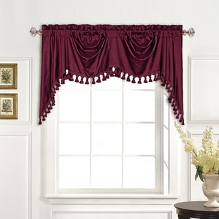 Luxury Collection 100-percent Dupioni Silk Austrian Valance