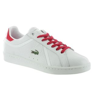 Lacoste Men's Bryont White/ Red Sneakers
