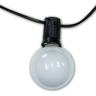 25-foot Savannah Amber Clear Bulb Light Strand