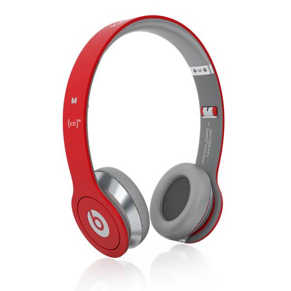 Shop Reconditioned Beats Solo Wired On Ear Headphones Solo Red Overstock 10846383