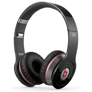 Reconditioned Beats Solo Wireless On-Ear Headphones-Solo Black