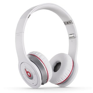 Reconditioned Beats Solo Wireless On-Ear Headphones-Solo White