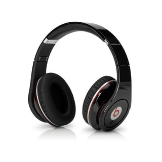 Reconditioned Beats Studio Wired OverEar Headphone - Studio Black