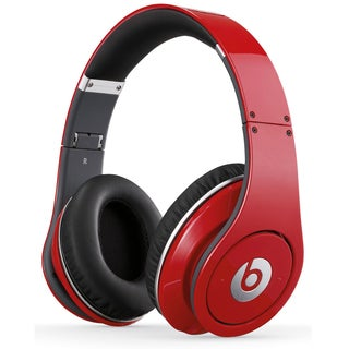 Reconditioned Beats Studio Wired OverEar Headphone - Studio Red