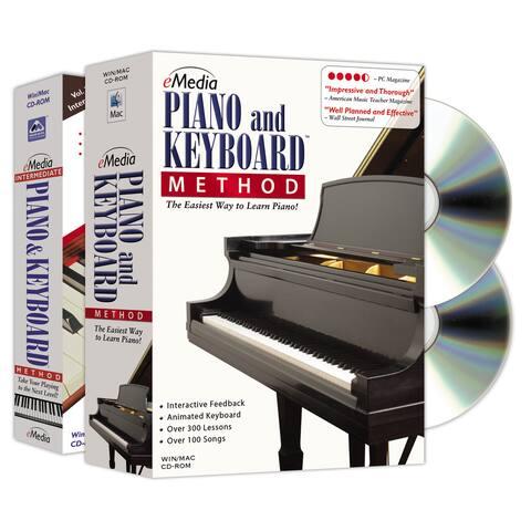 eMedia Piano and Keyboard Method Deluxe (2 Volume Bundle)