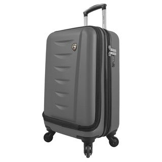 Mia Toro ITALY Tasca Moderna 20-inch Expandable Carry-on Hardside Spinner Suitcase