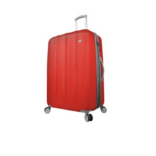 Mia Toro ITALY Mezza Tasca 29-inch Expandable Hardside Spinner Upright Suitcase (Option: Red)