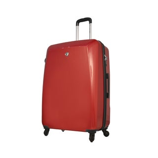 Mia Toro ITALY Fibre di Carbonio Moderno 28-inch Expandable Hardside Spinner Upright Suitcase