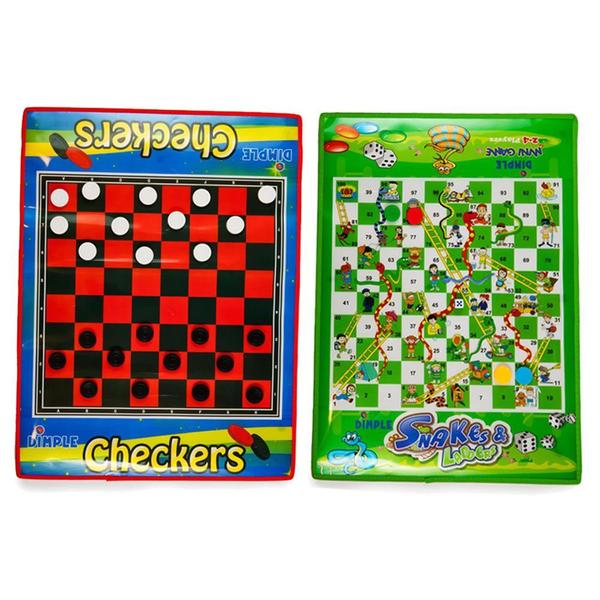 DimpleChild Snakes and Ladders/ Checkers Life Size Dimple Mats