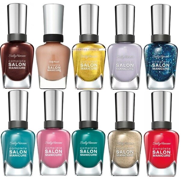 Shop Sally Hansen Salon Manicure Fun 10-piece Nail Polish Set - Free ...