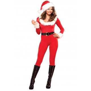 Women's Santa Baby Catsuit|https://ak1.ostkcdn.com/images/products/10846477/P17887026.jpg?impolicy=medium