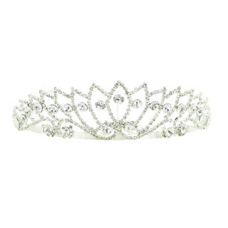 Kate Marie 'Adina' Rhinestone Crown Tiara Headband