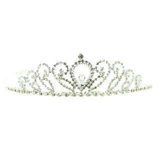 Kate Marie 'Donia' Rhinestone Crown Tiara Headband