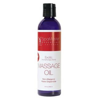 Master Massage 8-ounce Exotic Aromatherapy Massage Oil|https://ak1.ostkcdn.com/images/products/10846605/P17887141.jpg?impolicy=medium