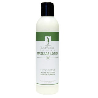 Master Massage 8-ounce Unscented Aromatherapy Massage Lotion