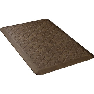 WellnessMats Copper Leaf 36 x 24-inch Estates Trellis Anti-Fatigue Floor Mat