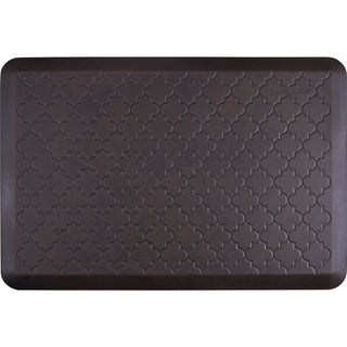 WellnessMats Navy Pier 36 x 24-inch Estates Trellis Anti-Fatigue Floor Mat