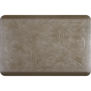 WellnessMats Sandstone 36 x 24-inch Estates Bella Anti-Fatigue Floor Mat