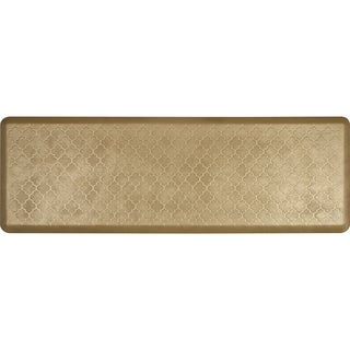 WellnessMats Aztec Gold 72 x 24-inch Estates Trellis Anti-Fatigue Floor Mat