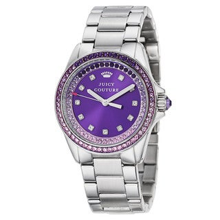 Juicy Couture Women's 'Stella' Stainless Steel Quartz Watch