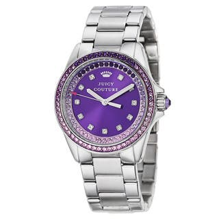 Juicy Couture Women's 'Stella' Stainless Steel Quartz Watch|https://ak1.ostkcdn.com/images/products/10846651/P17887170.jpg?impolicy=medium