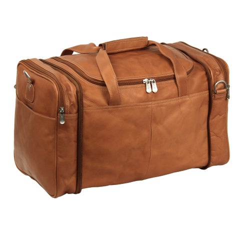 Piel Leather Convertible Carry-All Duffel and Tote Bag